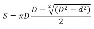 Vzorec pro výpočet S